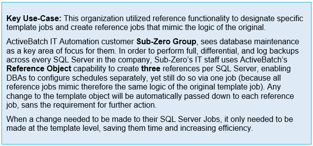 SQL Server Automation - ActiveBatch IT Automation and Job Scheduling Use Case