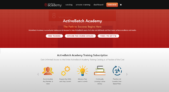 ActiveBatch Academy training for IT professionals