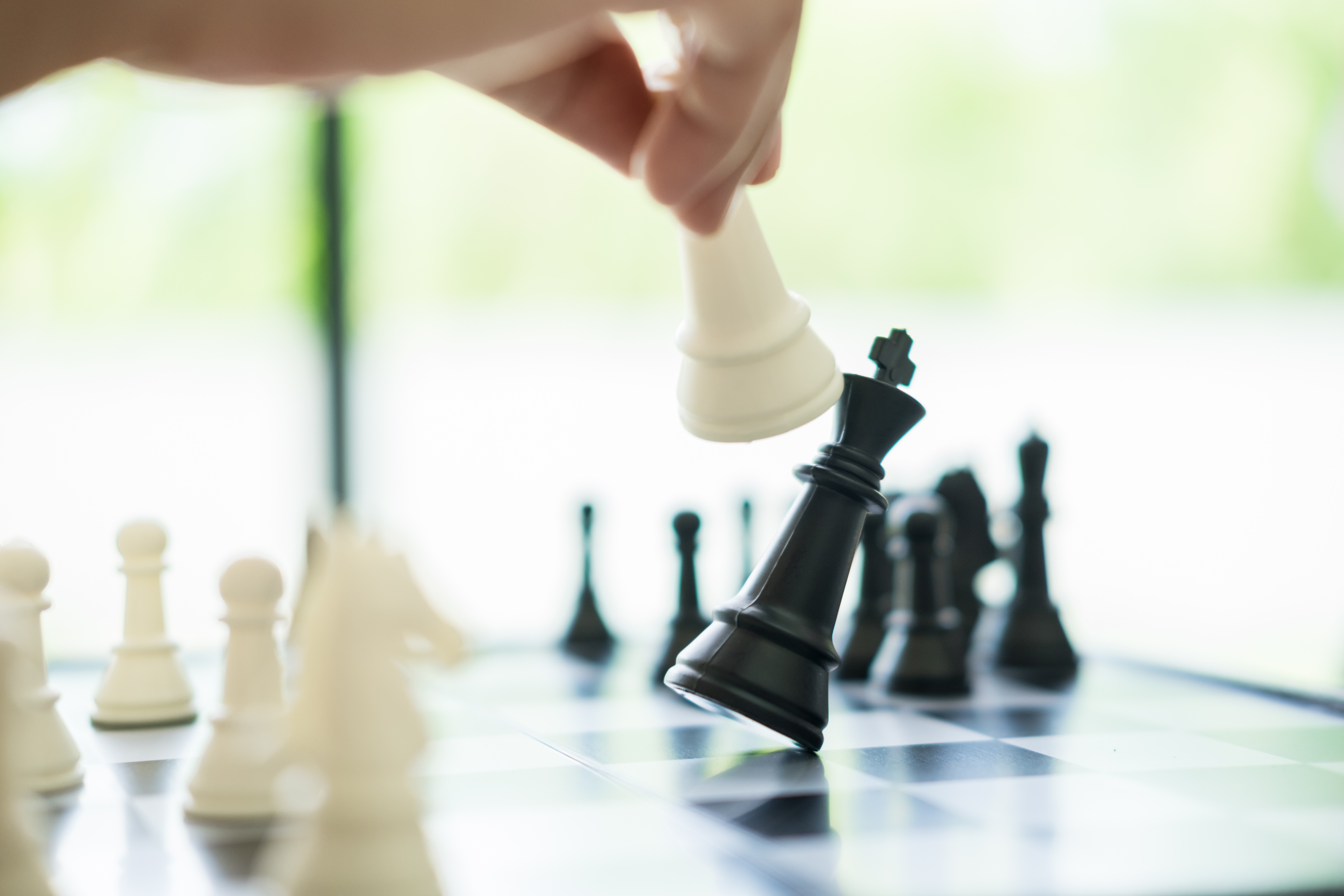 check mate_strategy_game over